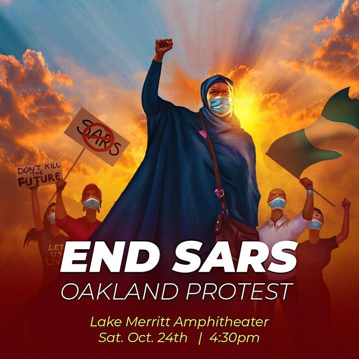 END SARS PROTEST (OAKLAND) image