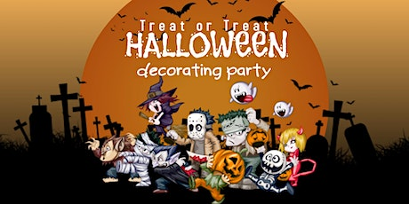 "Kids ""Treat or Treat"" Halloween Decorating Party tickets"