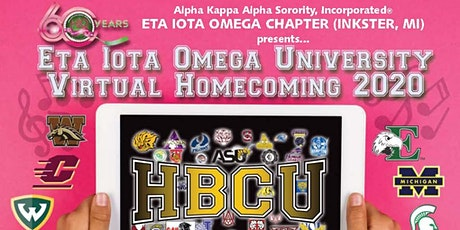 Eta Iota Omega University: Virtual Homecoming 2020 tickets