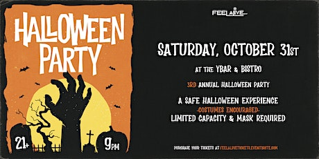 Feel Alive Presents: Halloween 2020 | A Safe Halloween Experience | tickets