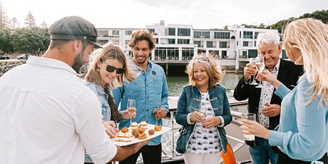 Trinity Wharf Dinner & Sunset Harbour Cruise with Bay Explorer tickets
