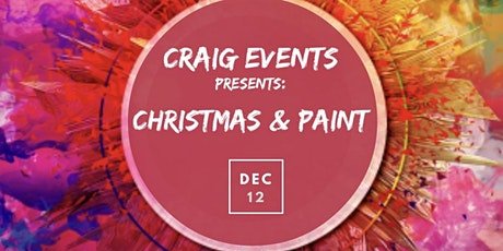 Christmas & Paint tickets