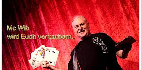 Mc Wib wird Euch verzaubern! Familien Zaubershow a Tickets