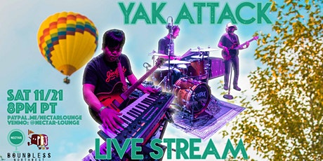 NVCS presents YAK ATTACK (live stream) tickets
