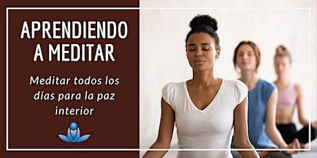 Aprendiendo a meditar - Meditar todos los días para alcanzar la paz interior boletos