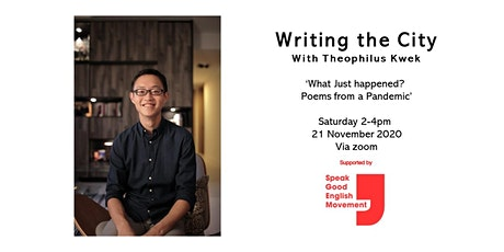Writing the City - With Theophilus Kwek tickets