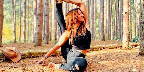 Free 60-Minute Virtual Online Vinyasa Yoga with Jenn Dodgson -- LND tickets