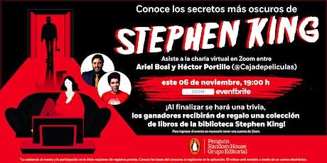 Conoce los secretos más oscuros de Stephen King entradas