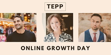 TEPP Online Growth Day: October 30, 2020 tickets
