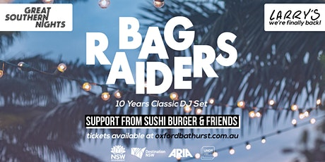 Larry's presents: Bag Raiders [10 Years Classic DJ Set] tickets