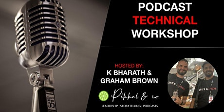 Podcast Technical Workshop by Magic Mic tickets