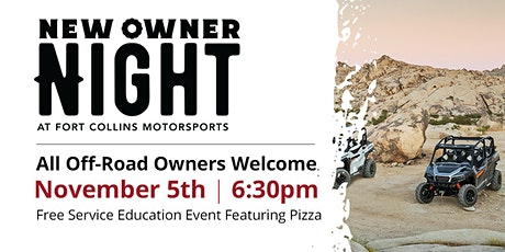 Fort Collins Motorsports 'New Owner Night' tickets