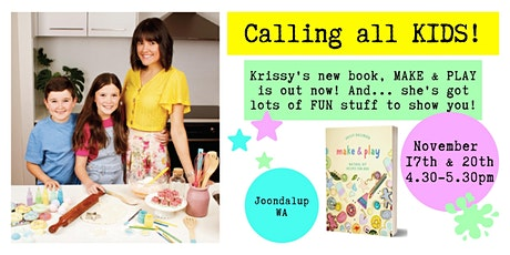 Make & Play: Natural & Fun DIY Recipes For Kids! Joondalup, WA tickets