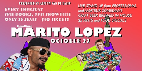 Comedy on Mill St. featuring Marito Lopez tickets