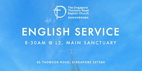8:30am English Worship Service tickets
