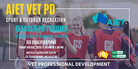 AIET Teacher PD : Sport & Outdoor Recreation tickets
