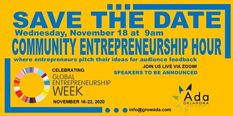 Community Entrepreneurship Hour - November Meetup Special Edition #GEWAda tickets