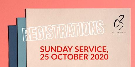 Sunday Service, 25 October 2020 tickets