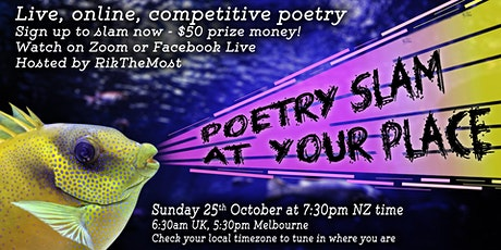 Poetry Slam at Your Place - event #28 tickets