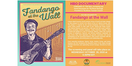 FANDANGO AT THE WALL Screening for Bronx Borough President Ruben Diaz, Jr. tickets