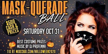 HALLOWEEN MASK-QUERADE BALL tickets