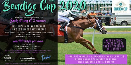 Bendigo Cup on Bull Street - Metropolitan Hotel tickets