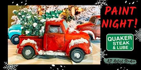 Ceramic Truck Paint Night at QS&L tickets