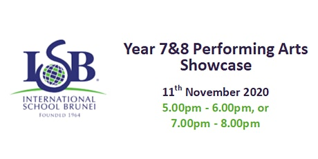 Year 7 & 8 Performing Arts Showcase tickets