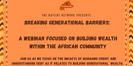 Breaking Generational Barriers: Part One tickets