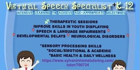 K-12 Tutoring+Speech Therapy tickets