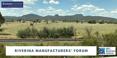 Riverina Manufacturers' Forum