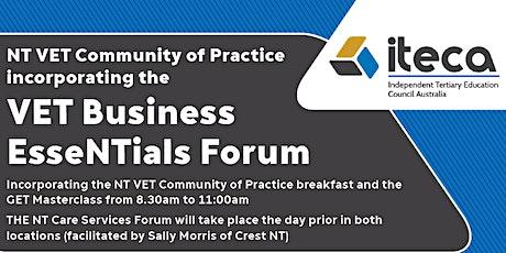 ITECA VET Business EsseNTials Forum - Darwin tickets