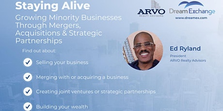 Staying Alive- Mergers and Acquisitions tickets