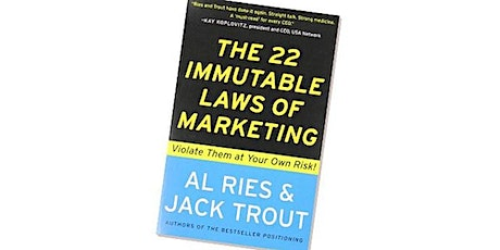 Book Review & Discussion : The 22 Immutable Laws of Marketing tickets