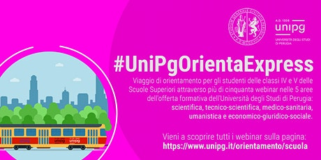 #UnipgOrientaExpress -  Filosofia e scienze umane biglietti