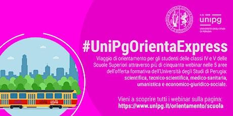 #UnipgOrientaExpress -  Lo studio della cognizione umana biglietti