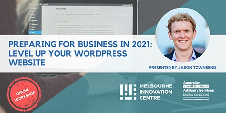 BRP: Prepare for Business in 2021: Level Up Your WordPress Website tickets