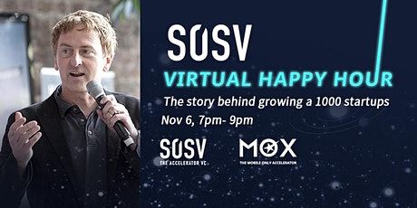 SOSV Virtual Happy Hour with Sean O'Sullivan tickets