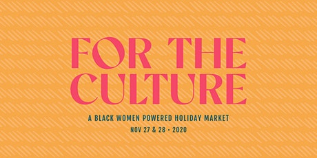 For The Culture Holiday Market 2020 tickets
