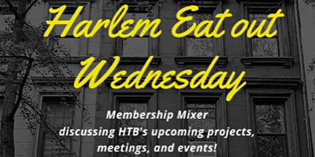 Harlem Eat Out Wednesday tickets