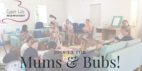Copy of Mums & Bubs with guest speaker Jessica Peters from Rescue Blue tickets