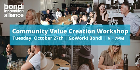 Bondi Community Value Creation Workshop/ Social catchup tickets
