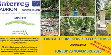 LAND ART COME SERVIZIO ECOSISTEMICO biglietti