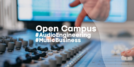 Open Campus: #Audio Engineering #Music Business Tickets