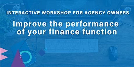 Improve the performance of your finance function tickets