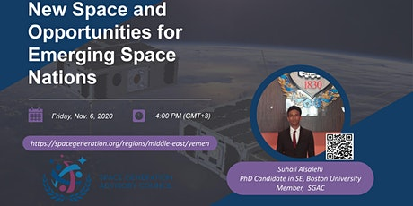 New Space and Opportunities for Emerging Space Nations tickets