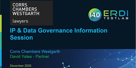 IP & Data Governance Information Session - by Corrs Chambers Westgarth tickets
