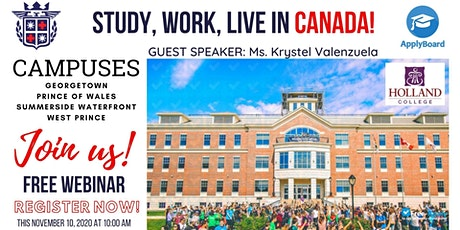 STUDY, WORK AND LIVE IN CANADA tickets
