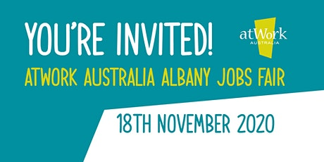 atWork Australia Albany Jobs Fair tickets