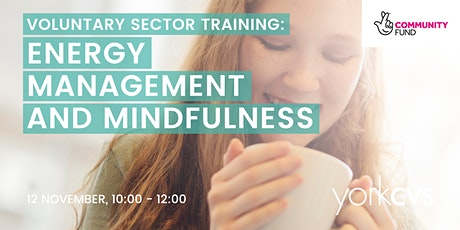 Energy Management and Mindfulness tickets